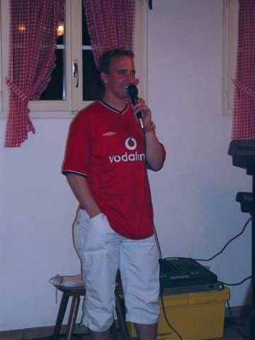 Karaoke mit Säschu