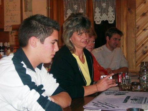 Mirco - Conny - Bernadette und Fredi