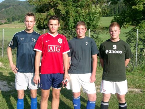 Saison 2008/2009 - Trainingsauftakt 1. Mannschaft