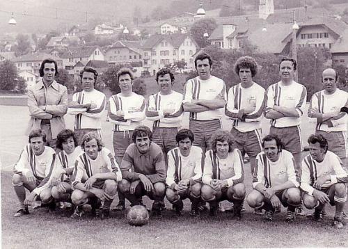 1.Mannschaft Technosturnier 1975 Photo 1975 03