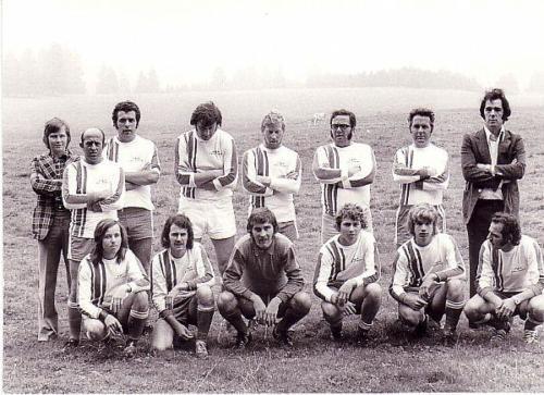 1.Mannschaft Technosturnier Photo 1974 05