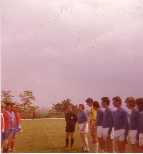 Huttingen Mannschaft Photo 1973 74 02