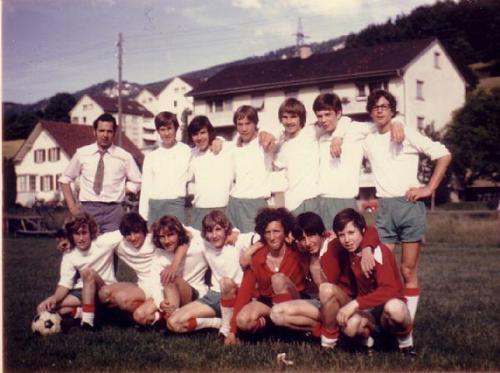 Junioren B Photo 1970 71 01