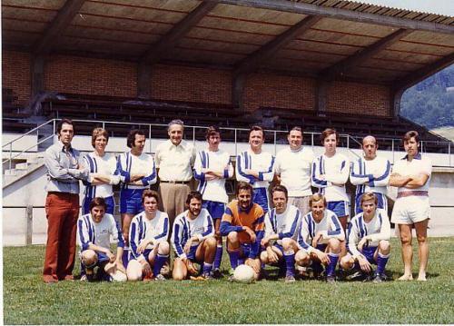 Mannschaft FCW Aug 1976 Photo 1976 01