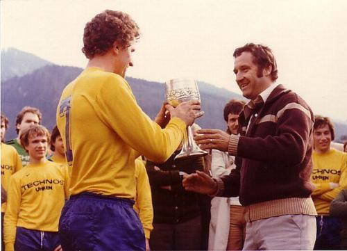 Pokalübergabe 1978 Photo 1978 07