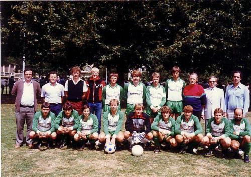 1.Mannschaft 1983 84 Mondiaturnier Photo 1983 05