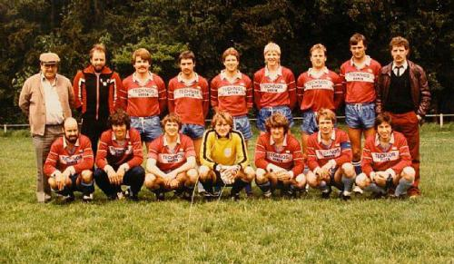 1.Mannschaft 1983 84 Photo 1983 02