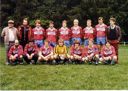 1.Mannschaft 1983 84 Photo 1983 10