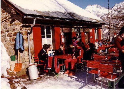 Saas-Fee 1981 Grotte Photo 1981 03