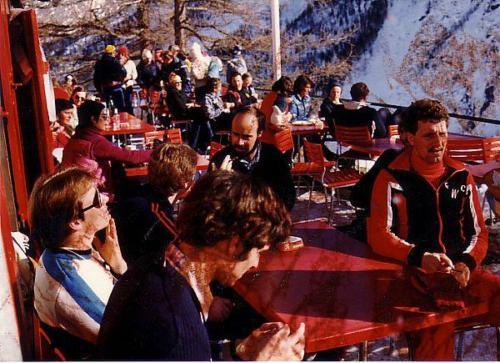 Saas-Fee 1981 Grotte Photo 1981 07