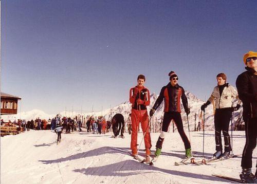 Saas-Fee 1981 Paul Martin Hugo Photo 1981 01