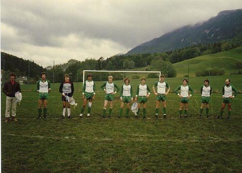 Spiel 1.Mannschaft Aug 1983 Photo 1983 04