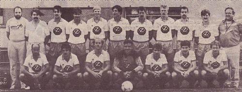 1. Mannschaft 2.Liga 1986 87 Photo 1987 08