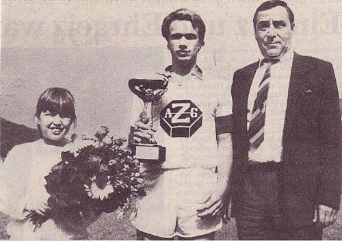 Torschützenkönig Christ Saison 1985 86  Photo 1986 26