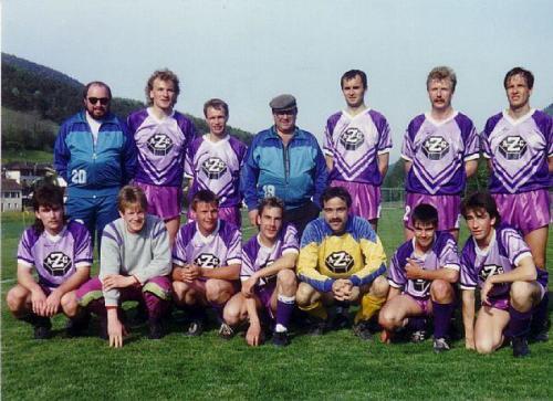 1.Mannsachaft 1990 1991 Photo 1991 08