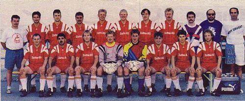 1.Mannschaft 1994 95 Saison 95 02
