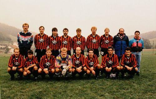 1.Mannschaft 2.Liga 1991 92 Photo 1991 01