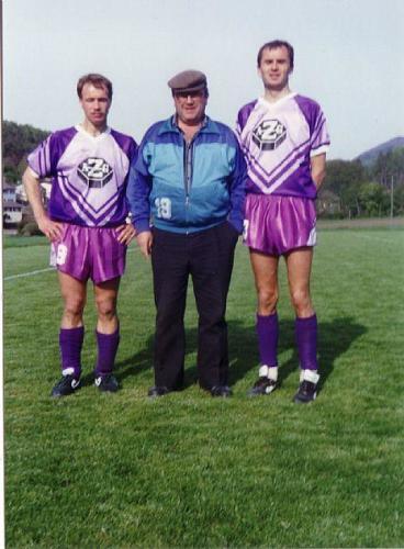 2.Liga Meier Gunzinger Christ 1990 1991 Photo 1991 10