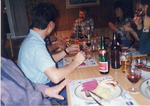 Vorstand Abschluss Malsen Photo 1991 05