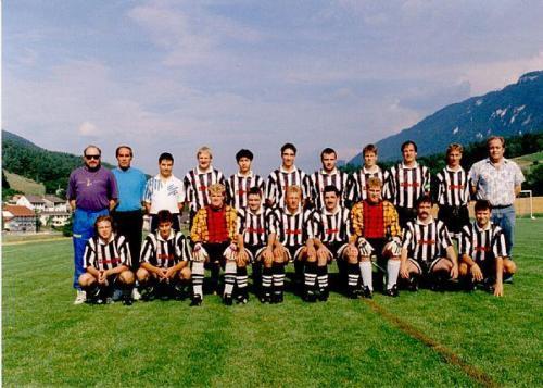 1. Mannschaft Photo 1995 07