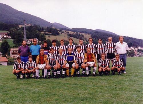 1. Mannschaft V2 Saison 1995 1996 Photo 1995 07