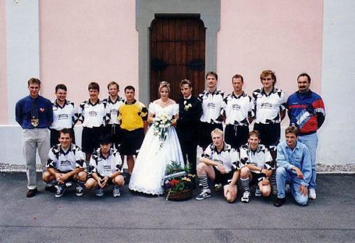 2. Mannschaft Hochzeit T Brunnner Photo 1997 02