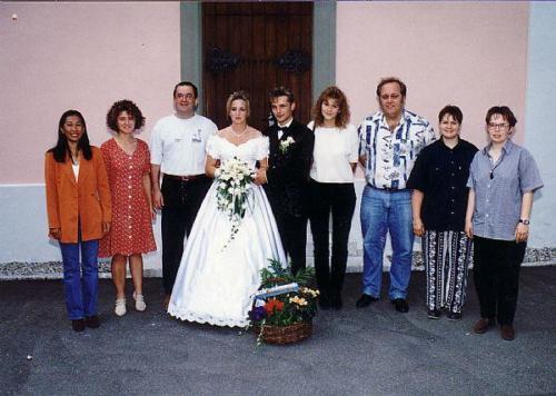 2. Mannschaft Hochzeit T Brunnner Photo 1997 03