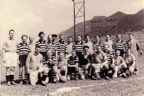 Spiel YBBS 1951 Photo 1951 05