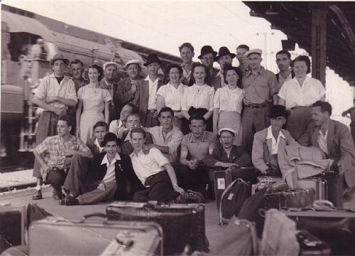 Spiel YBBS 1951 Photo 1951 07