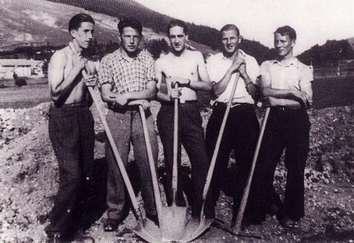 Arbeiten Anfang 30er Jahre