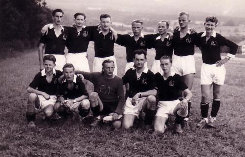 Mannschaftsneugründung 1945 Photo 1945 03