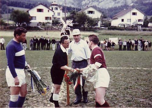 Aufstiegsfeier 1965 Match Strähl Photo 03