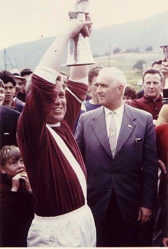 Aufstiegsfeier 1965 Match Strähl Pokal Photo 17