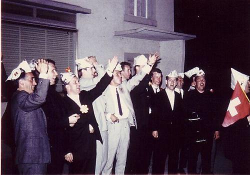 Aufstiegsfeier 1965 Nacht Photo 11