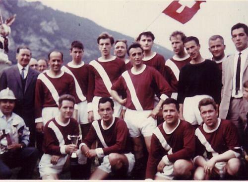 Mannschaft Aufsteiger 1965 Photo 1965 06