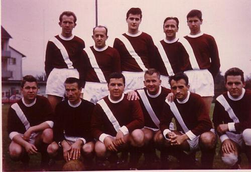 Mannschaft Aufsteiger 1965 Photo 1965 07