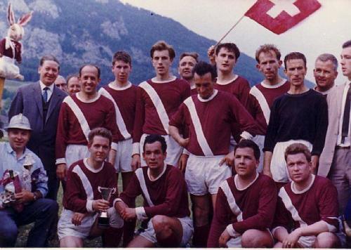 Mannschaft Aufsteiger 1965 Photo 1965 08